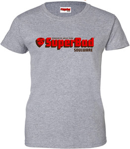 SuperBad Soulware Women's T-Shirt - Grey
