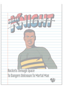 Vintage Black Heroes Notepad - Neil Knight - 3