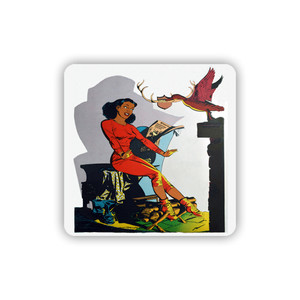 Afrotopia Coasters - Vintage Lodge - Package Of 10