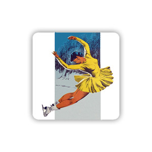 Afrotopia Coasters - Vintage Skater - Package Of 10