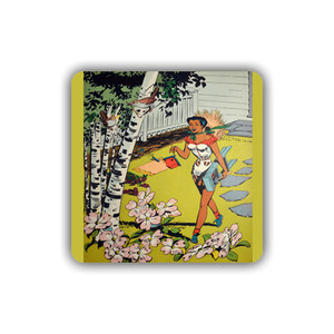 Afrotopia Coasters - Vintage Bird House - Package Of 10