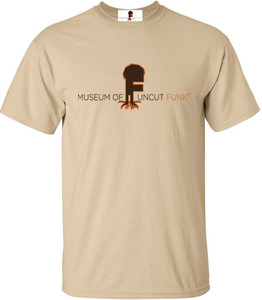 Museum Of UnCut Funk Men's T-Shirt -  Logo 1 - Natural