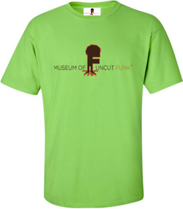 Museum Of UnCut Funk Men's T-Shirt -  Logo 1 - Lime Green
