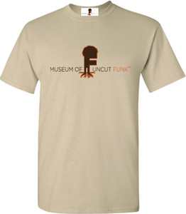 Museum Of UnCut Funk Men's T-Shirt -  Logo 1 - Sand