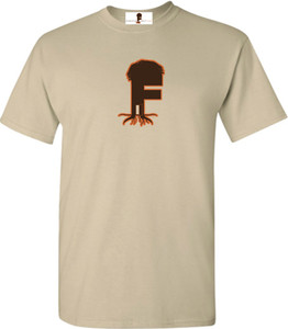 Museum Of UnCut Funk Men's T-Shirt -  Logo 2 - Sand