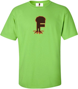Museum Of UnCut Funk Men's T-Shirt -  Logo 2 - Lime Green
