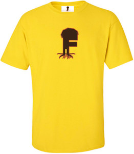 Museum Of UnCut Funk Men's T-Shirt -  Logo 2 - Yellow