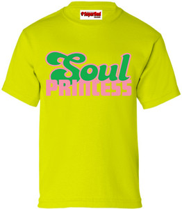 SuperBad Soulware Girls T-Shirt - Soul Princess - Lime Green - PG