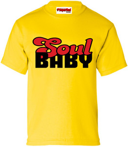 SuperBad Soulware Kids T-Shirt - Soul Baby - Yellow - BR