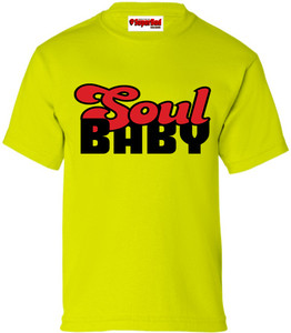 SuperBad Soulware Kids T-Shirt - Soul Baby - Lime Green - BR