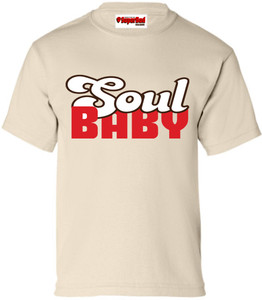 SuperBad Soulware Kids T-Shirt - Soul Baby - Natural - BRWR