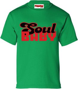 SuperBad Soulware Kids T-Shirt - Soul Baby - Irish Green - RB