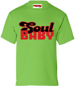 SuperBad Soulware Kids T-Shirt - Soul Baby - Green - RB