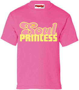 SuperBad Soulware Girls T-Shirt - Soul Princess - Dark Pink - YP