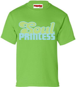 SuperBad Soulware Girls T-Shirt - Soul Princess - Green - BLG