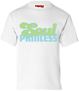 SuperBad Soulware Girls T-Shirt - Soul Princess - White - BLG