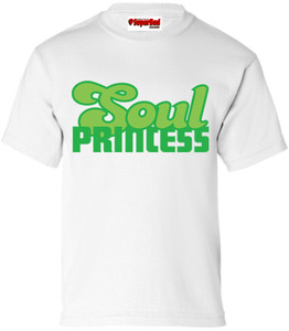 SuperBad Soulware Girls T-Shirt - Soul Princess - White - DGG