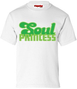 SuperBad Soulware Girls T-Shirt - Soul Princess - White - GDG