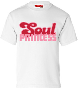 SuperBad Soulware Girls T-Shirt - Soul Princess - White - PDP