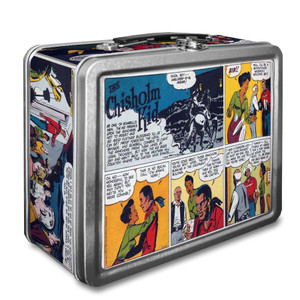 Vintage Black Heroes Lunchbox - The Chisholm Kid - CST9
