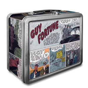 Vintage Black Heroes Lunchbox - Guy Fortune - CST7