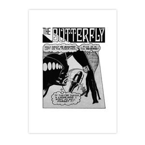 Vintage Black Heroines Notecards - The Butterfly - 6 - Package Of 10