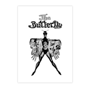 Vintage Black Heroines Invitations - The Butterfly - 1 - Package Of 10
