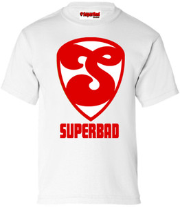 SuperBad Soulware Boys T-Shirt - S2 - White - RW