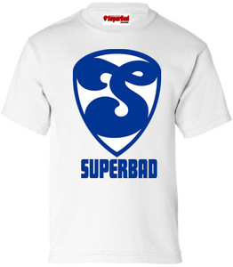 SuperBad Soulware Boys T-Shirt - S2 - White - BLW