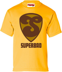SuperBad Soulware Boys T-Shirt - S2 - Gold - BRGD