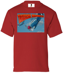 Tuskegee Redtails Boys T-Shirt - 1 - Red