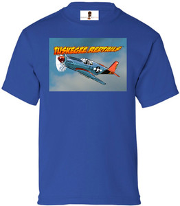 Tuskegee Redtails Boys T-Shirt - 3 - Royal Blue
