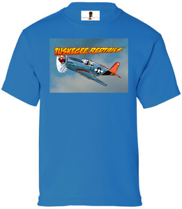 Tuskegee Redtails Boys T-Shirt - 3 - Sapphire Blue