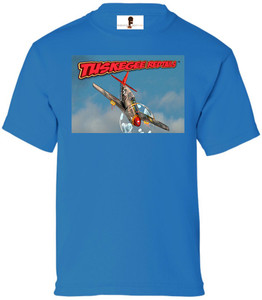 Tuskegee Redtails Boys T-Shirt - 5 - Sapphire Blue