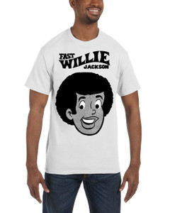 Fast Willie Jackson Men's T-Shirt - Fast Willie Jackson - 1C - White