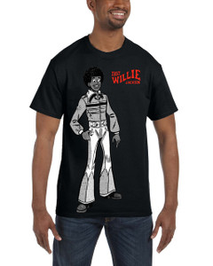 Fast Willie Jackson Men's T-Shirt - Fast Willie Jackson - 4C - Black