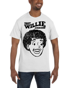 Fast Willie Jackson Men's T-Shirt - Fast Willie Jackson - 3 - White
