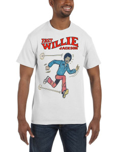 Fast Willie Jackson Men's T-Shirt - Fast Willie Jackson - 5 - White