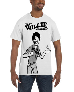 Fast Willie Jackson Men's T-Shirt - Fast Willie Jackson - 8 - White