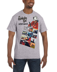 Vintage Black Heroes Men's T-Shirt - The Chisholm Kid - Comic 1 - Sport Grey
