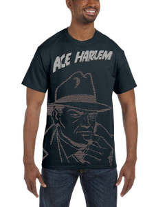 Vintage Black Heroes Men's T-Shirt - Ace Harlem - GCO1 - White