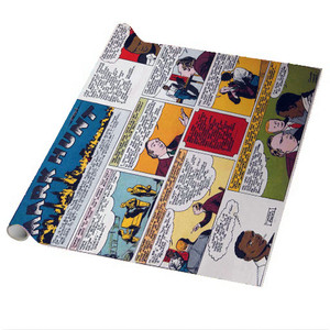 Vintage Black Heroes Wrapping Paper Sheets - Mark Hunt - CST11 - Package Of 5
