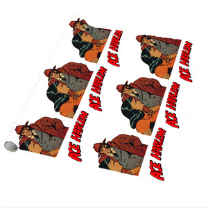 Vintage Black Heroes Wrapping Paper Sheets - Ace Harlem - 15 - Package Of 5