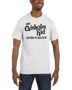 Vintage Black Heroes Men's T-Shirt - The Chisholm Kid - Logo 2 - White