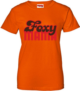 SuperBad Soulware Women's T-Shirt - Foxy Mama - Orange