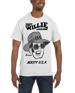 Fast Willie Jackson Men's T-Shirt - Frankie - 4B - White