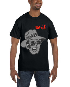 Fast Willie Jackson Men's T-Shirt - Frankie - 5A - Black