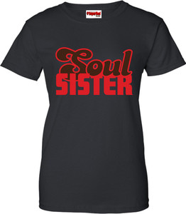 SuperBad Soulware Women's T-Shirt - Soul Sister - Black