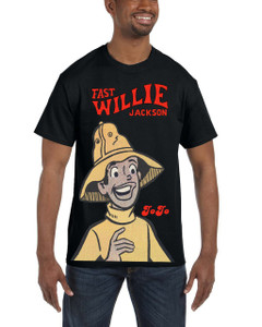 Fast Willie Jackson Men's T-Shirt - JoJo - 2C - White
