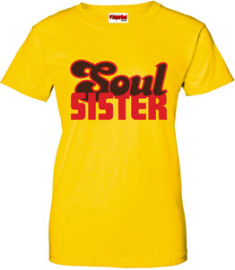 SuperBad Soulware Women's T-Shirt - Soul Sister - Yellow